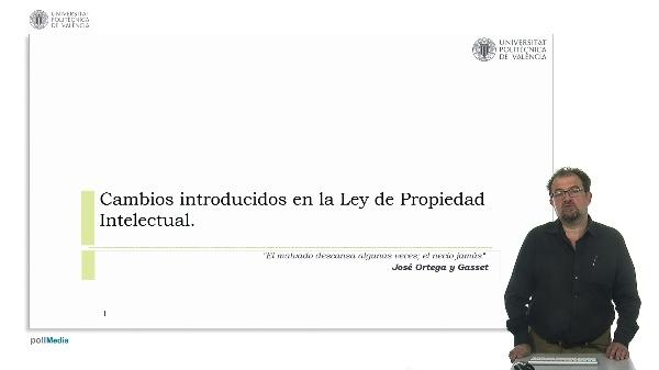 Cambios introducidos en la Ley de Propiedad intelectual