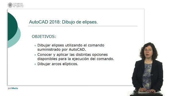AutoCAD 2018: Dibujo de elipses