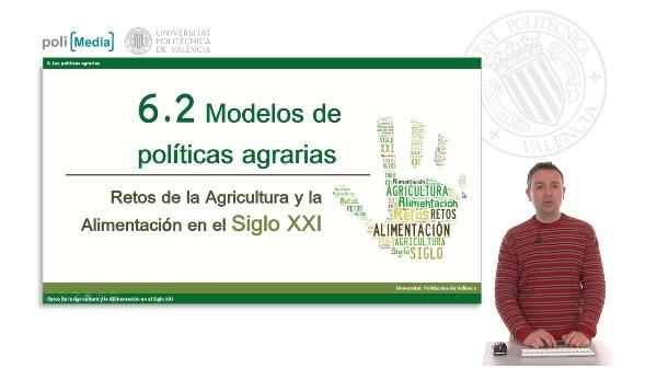 Modelos de políticas agrarias
