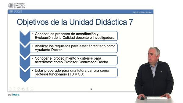 Unidad 7. Procesos de Acreditación