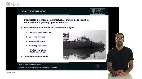 MECÁNICA DE FRACTURA. ANÁLISIS DE FRACTURAS FRÁGILES