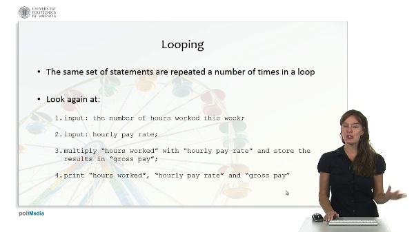Programming Logic and Languages: loops