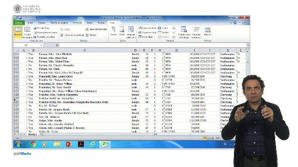 Excel 2: Gestión de datos
