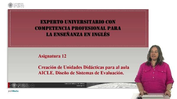 Presentación asignatura 12. Curso capacitación en inglés.