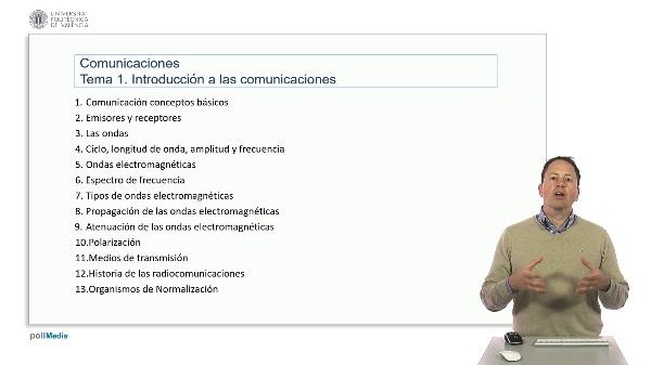 Introducción a las radiocomunicaciones. Resumen tema 1