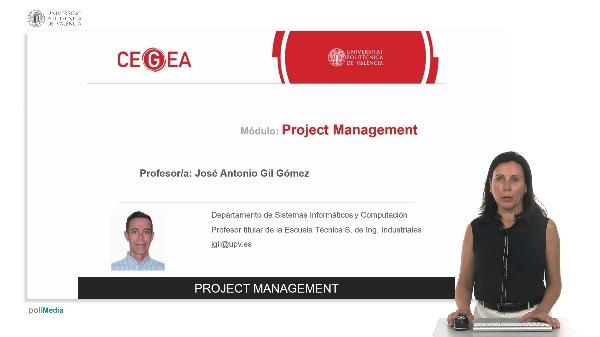 CEGEA - Project Management - Evaluación