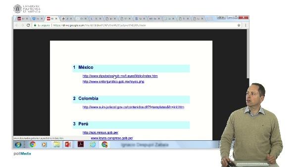 Búsqueda de información en Internet. Información jurídica y legislativa de Latinoamérica