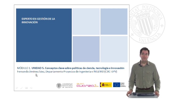 Unidad 5 conceptos claves sobre políticas de ciencia tecnología e innovación