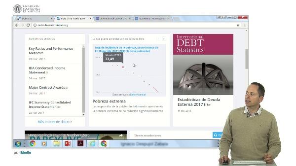 Buscar en Internet. Información estadística mundial