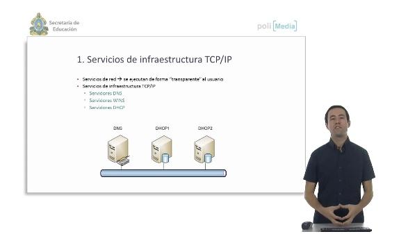 Servicios en red. Servicios de infraestructura