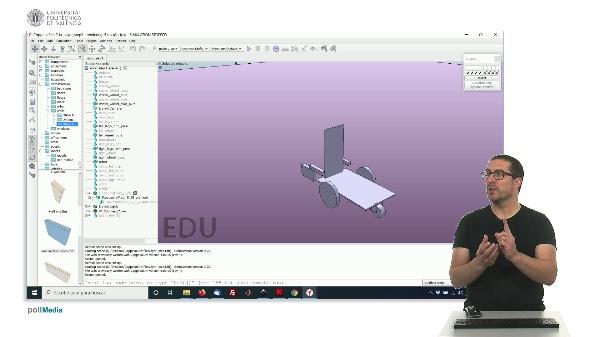 CoppeliaSim (V-REP): Creating DYOR robot (Step 3).