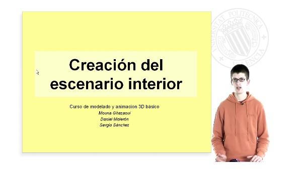 Creación del Escenario Interior