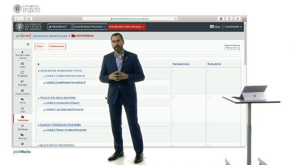 Características curso Actualización y Recertificación
