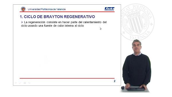 Modificaciones al ciclo de Brayton