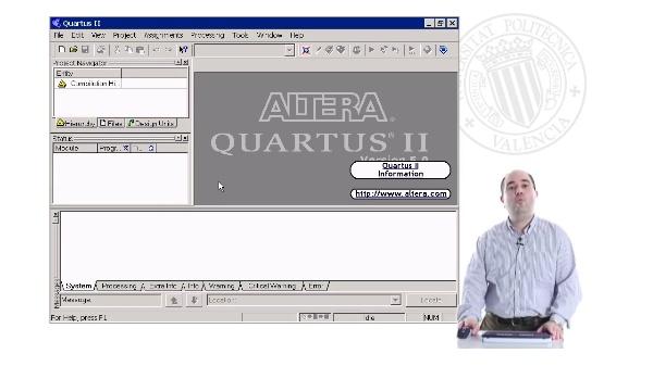Uso de HDLs en Quartus2