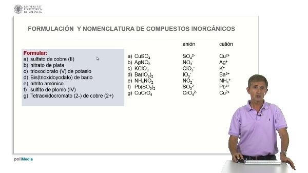 3.8. Oxosales neutras. Ejercicios