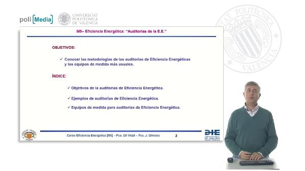 Auditorias de la Eficiencia Energética. Introducción