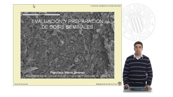 Evaluación y Preparación de Dosis Seminales - Parte II