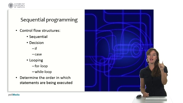 Programming Logic and Languages: event-driven programming