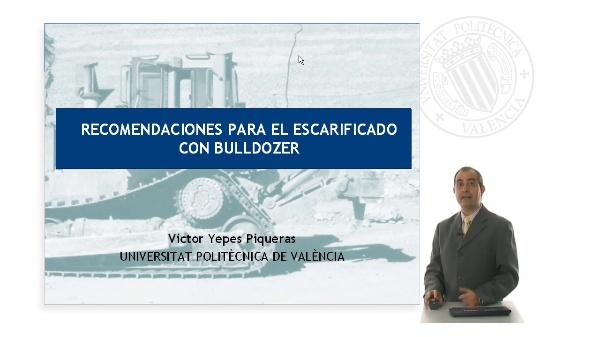 Recomendaciones para el escarificado con bulldozer