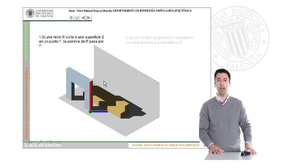 Soleamiento: las sombras en la representación ortográfica. Fundamentos