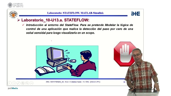 Curso de ingeniería del software para sistemas embebidos. Modulo 13 parte 4. StateFlow_MATLAB