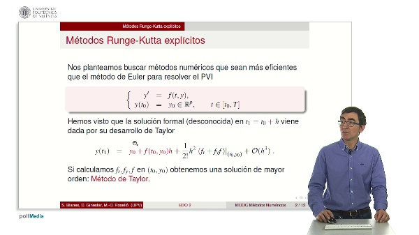 Métodos de Runge-Kutta explícitos