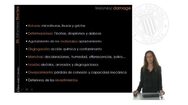 Estructura: patología