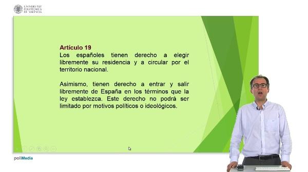 La libertad de residencia y de circulacion en la Constitucion Espa?ola de 1978