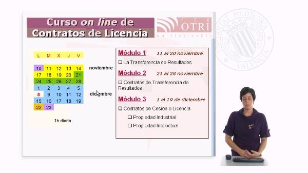 Curso On Line de Contratos de Licencia