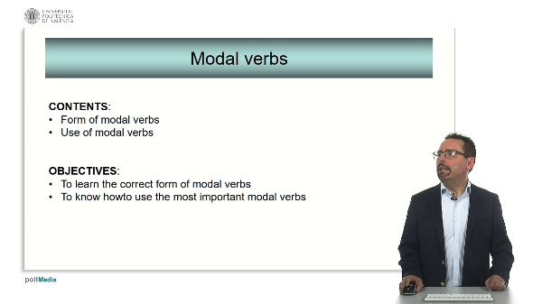 Technical English: Modal verbs