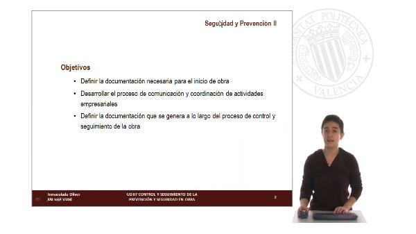 UD 07. Control y seguimiento de la prevención y seguridad en obra