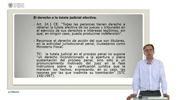 Los derechos del acusado-imputado en la Constitucion Espa?ola de 1978