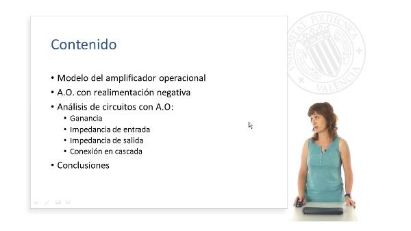 Analisis basico con amplificadores operacionales