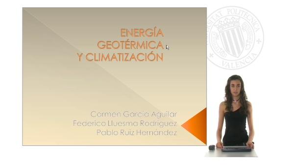 Energía geotérmica y climatización