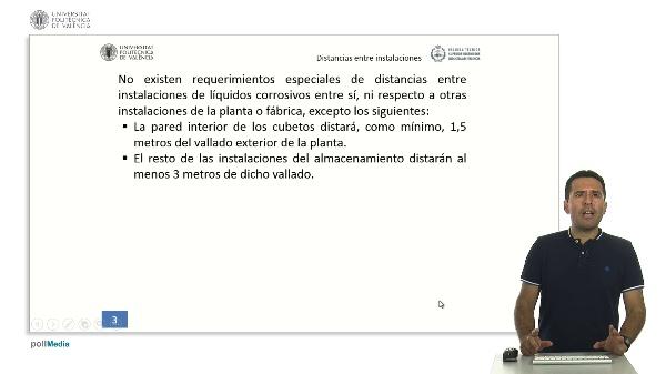 ITC MIE AQP-6: Distancias entre instalaciones y distancias entre recipientes (art.12 y 13)