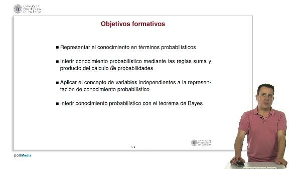 Razonamiento probabilístico: representación e inferencia