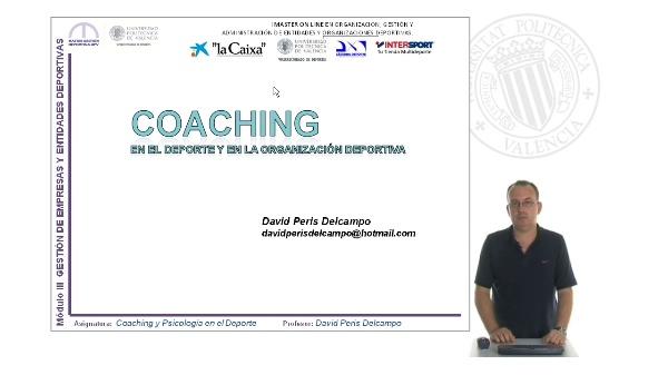 Coaching en el deporte y la organización deportiva