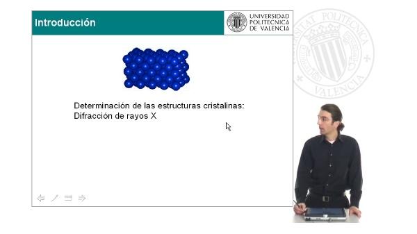 Determinación de las estructuras cristalinas: Difracción de rayos X