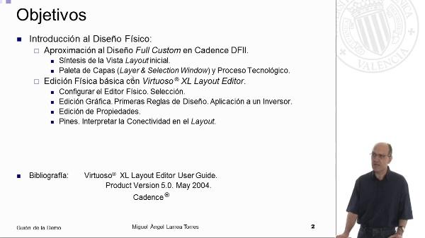 Fundamentos VLSI con Cadence DFII: Introducción al Diseño Físico
