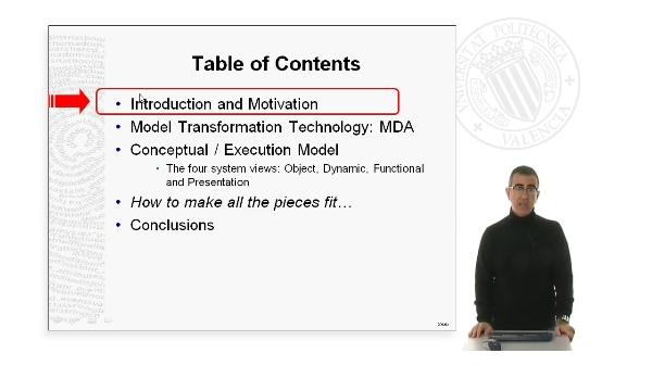 Desarrollo dirigido modelos MDD. Motivacion