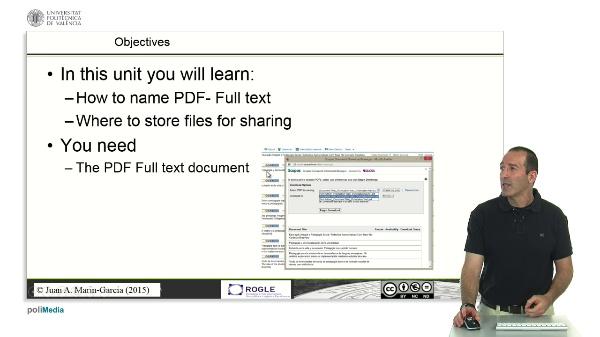 Managing pdfs