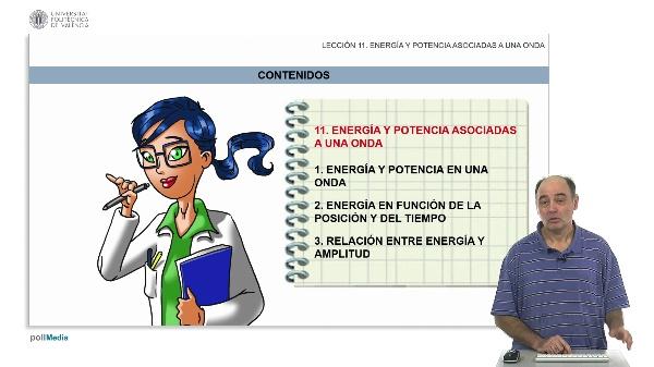 Energía y potencia asociadas a una onda