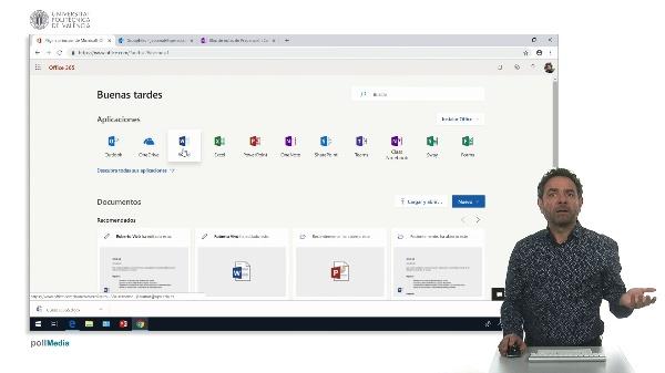 Actividad reciente en Office 365