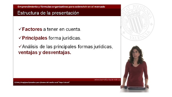 La elección de la forma jurídica