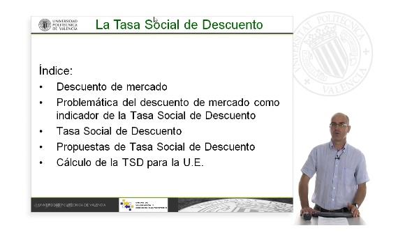 La Tasa de Descuento Social. Guión