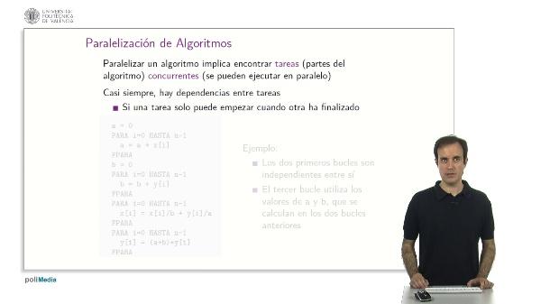 Diseño de Algoritmos Paralelos: Dependencias de Datos