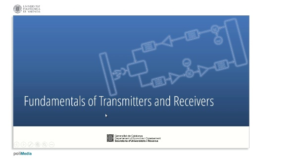 Fundamentals of Transmitters and Receivers VIII