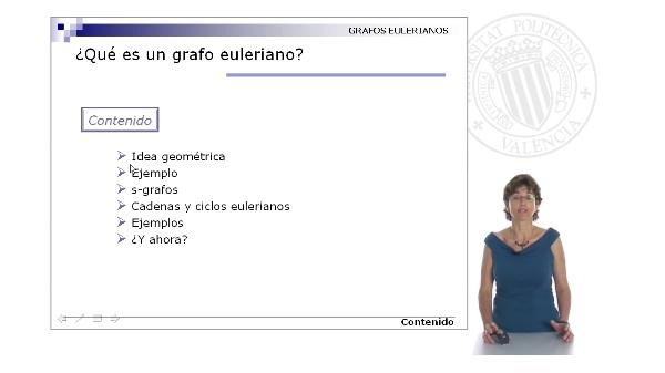 ¿Qué es un grafo euleriano?
