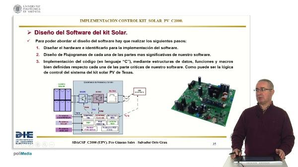 Diseño del Software del Kit Solar